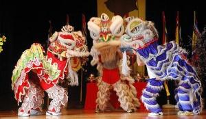 Lion Dancers, photo courtesy of Tet Celebration at Dulles Expo
